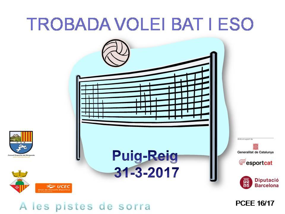 II TROBADA VOLEIBOL PUIG-REIG 31-3-17