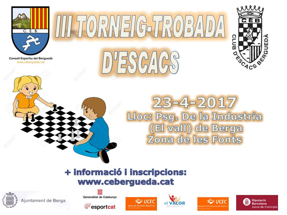 CARTELL III Torneig - Trobada Escacs s